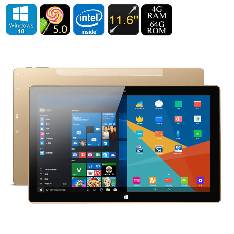 Onda oBook 11 Plus Dual-OS Tablet PC