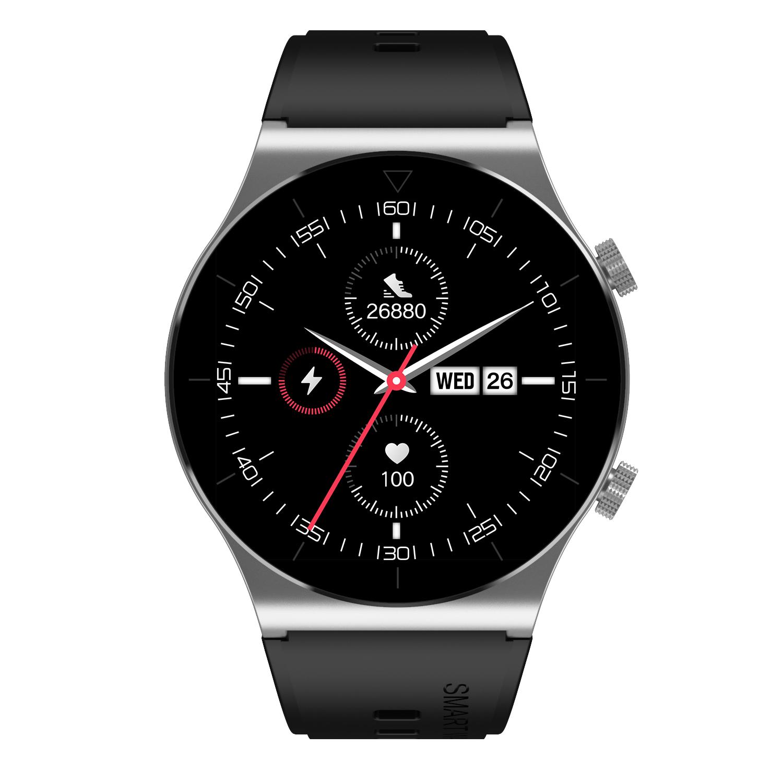M99 Smart Watch Bluetooth Calls Fitness Bracelet Multi-sport Modes Heart Rate Sleep Monitoring Smartwatch Silver glue