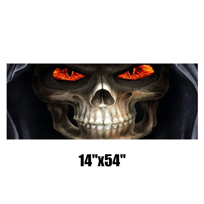 Grim Reaper Rear Window Tint Graphic Decal Wrap Back Pickup Graphics 135*36cm