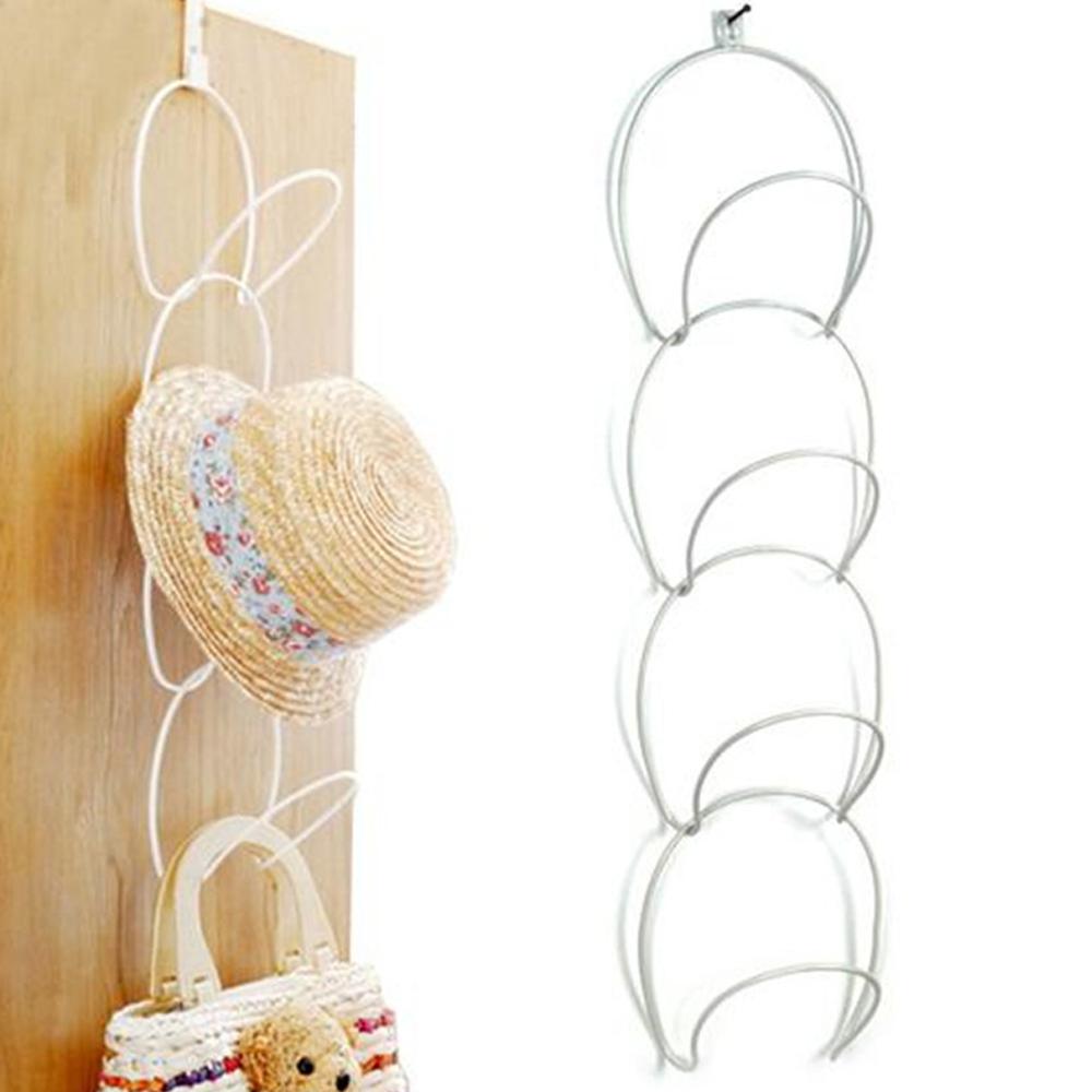 Creative Multilayer Scarf Baseball Cap Hat Holder Rack Organizer Storage Door Closet Hanger