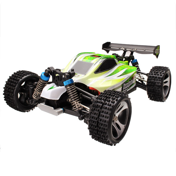 WLtoys A959-B 1/18 4WD Buggy Off Road RC Car 70km/h green
