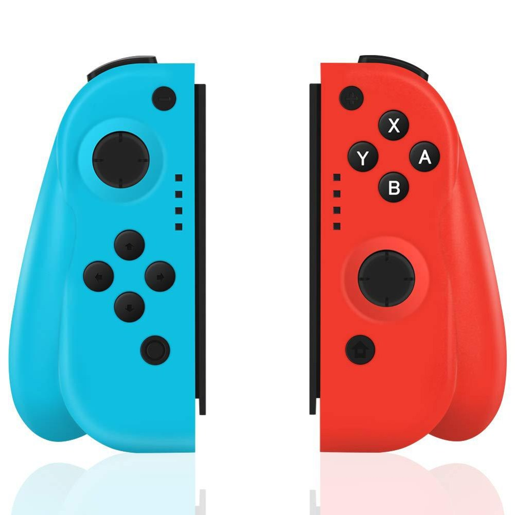 Bluetooth Somatosensory Controller For Switch Joy-con NS Left/Right Blue and red