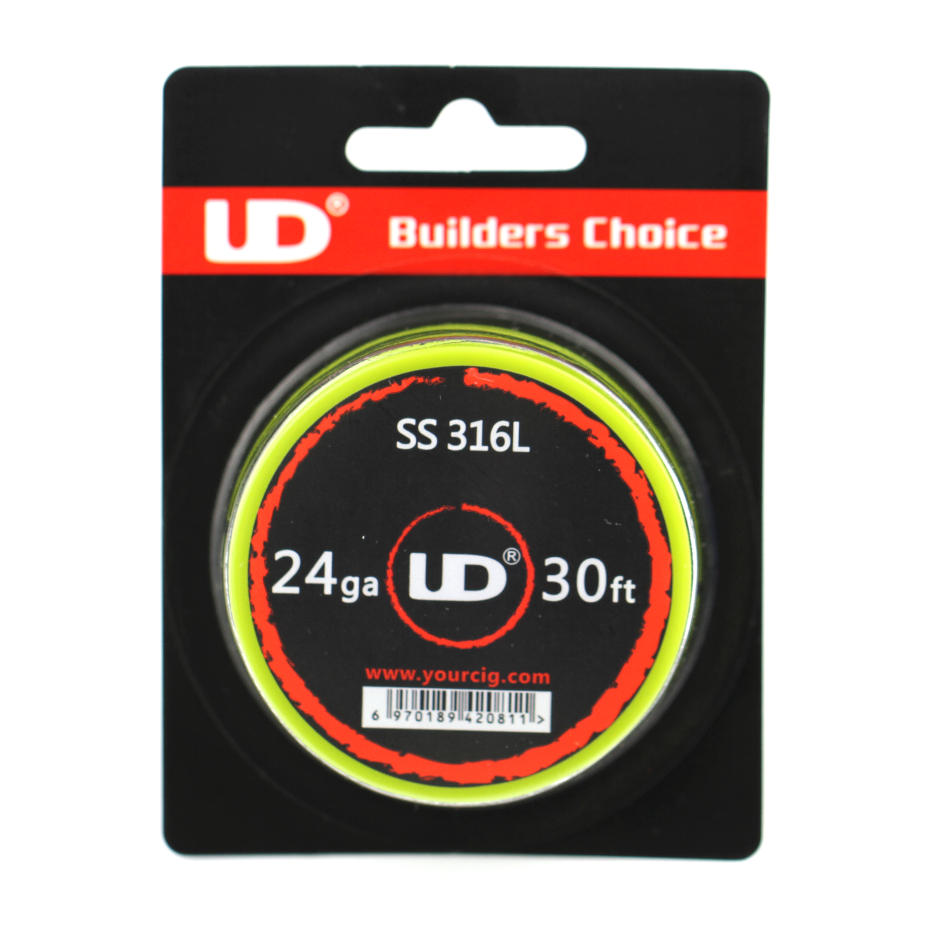 Electronic Cigarette Stainless Steel SS316L Heating Wire 30FT 24 AWG Gauge 24AWG