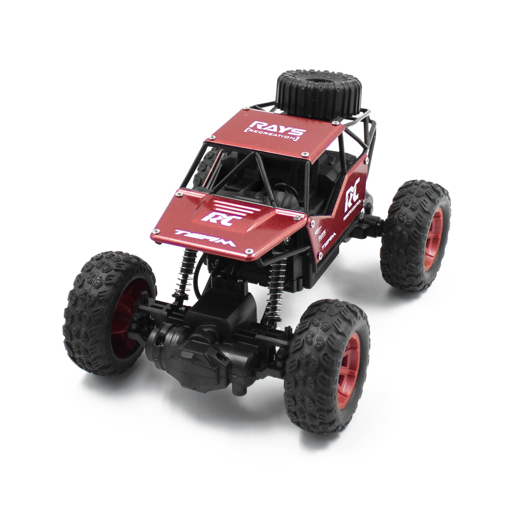 RC Cars on the Control Panel Climbing Off-Road Remote Control Car Toys RC Buggy Radio-Controlled Machine red