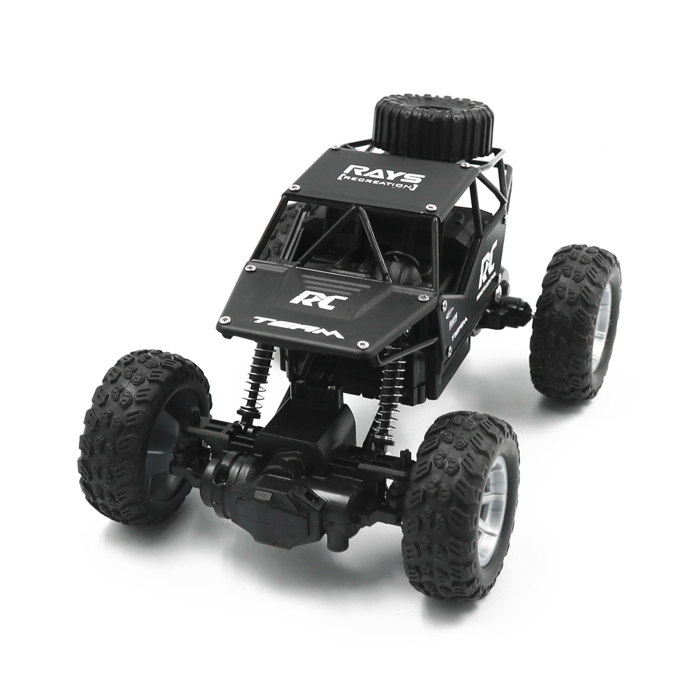RC Cars on the Control Panel Climbing Off-Road Remote Control Car Toys RC Buggy Radio-Controlled Machine black