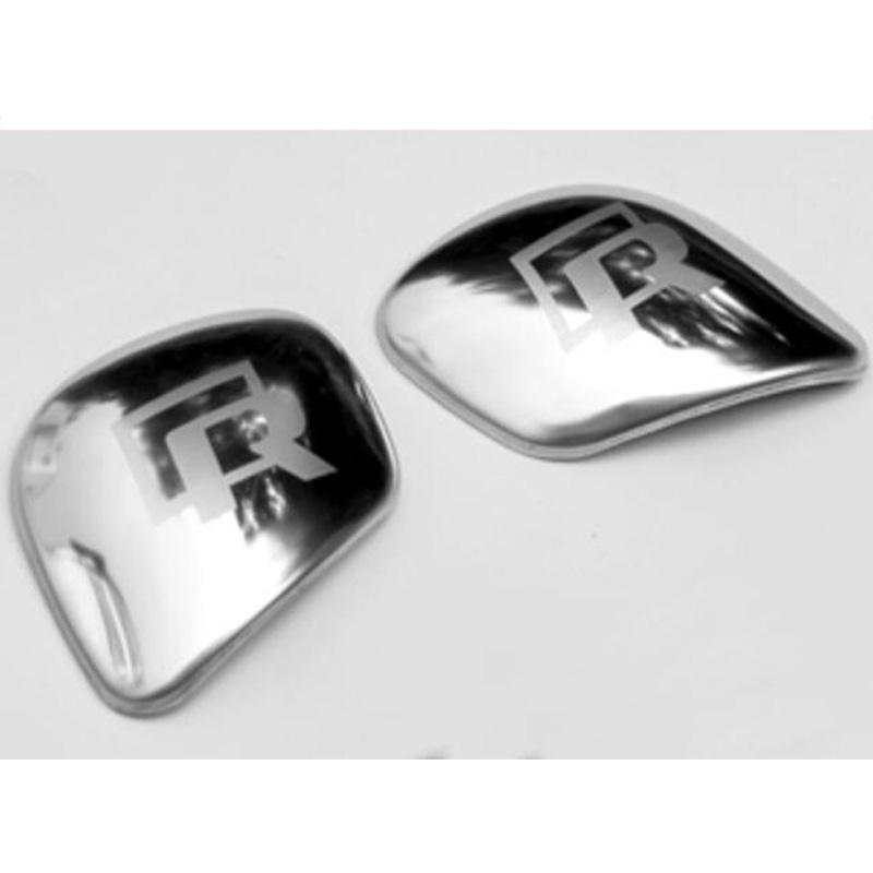 Gear Shift Knob Side Cover Trim For VW Golf Santana Passat Jetta R standard silver bright color