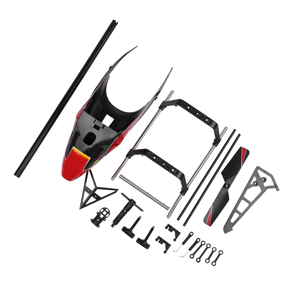 WLtoys V913 RC Helicopter Accessories Bag V913 Spare Part Kits Canopies As shown