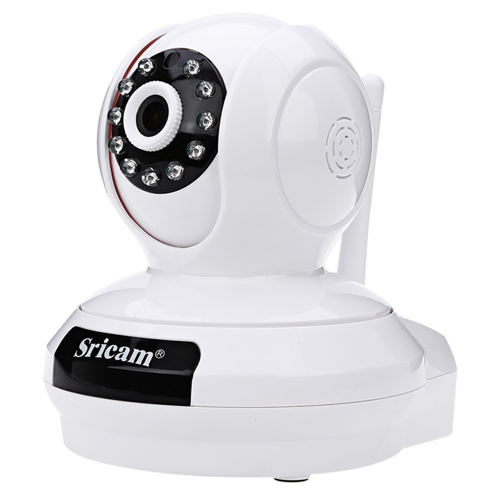 White EU Sricam SP019 HD 1080P IP Camera