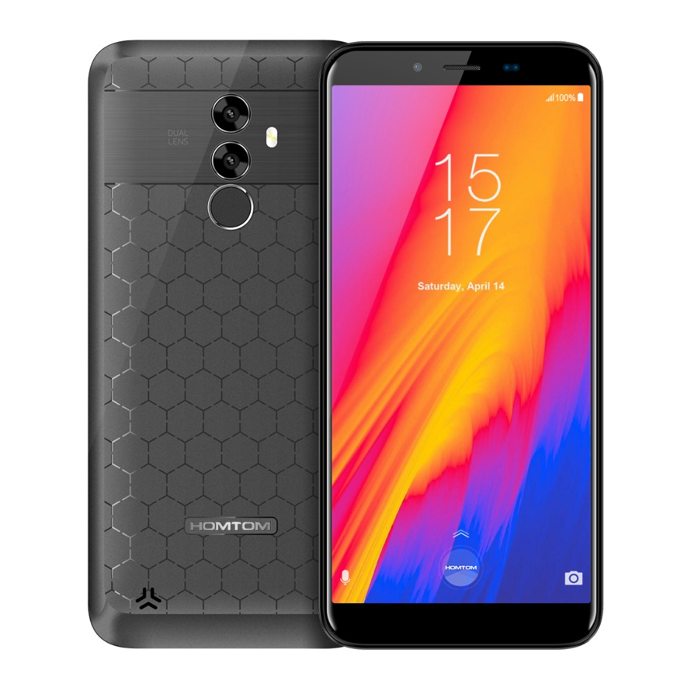 HOMTOM S99 Mobile Phone Gray
