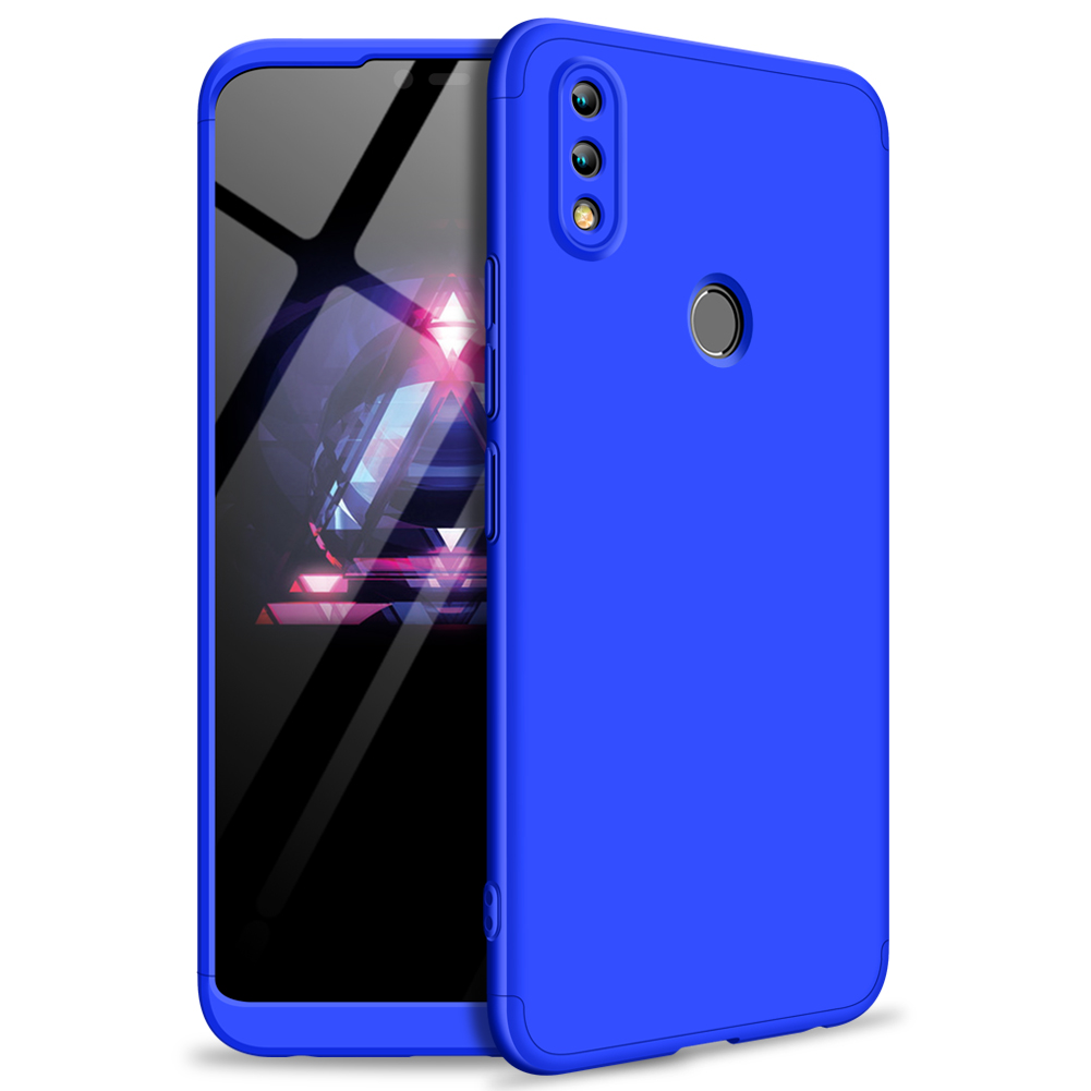 For HUAWEI Honor 8X Ultra Slim PC Back Cover Non-slip Shockproof 360 Degree Full Protective Case blue_HUAWEI Honor 8X