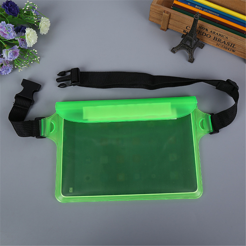Outdoor Sports Fanny Pack for Swimming Diving 3-layer Sealed Waterproof Touch Screen Bag