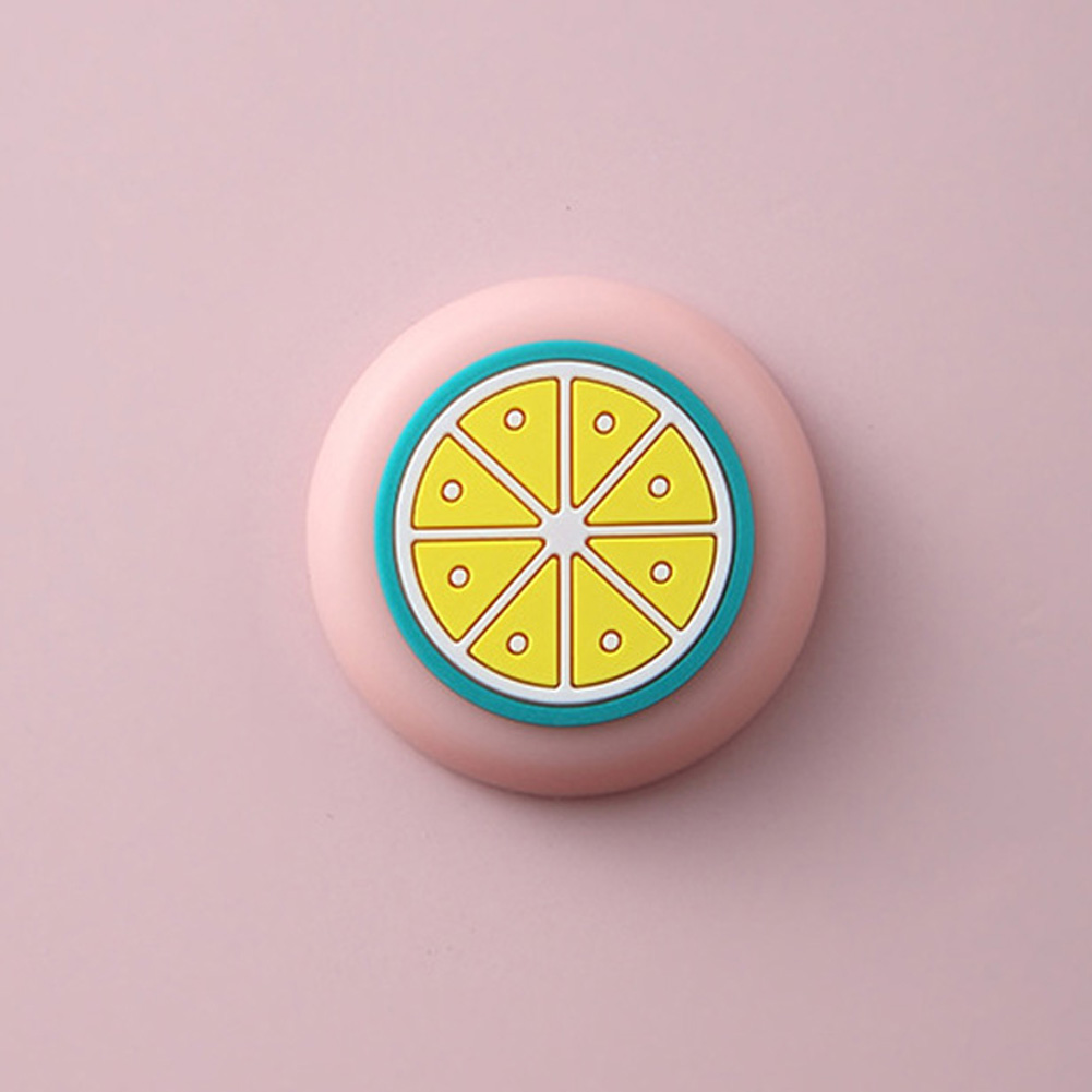 10pcs Cartoon Refrigerators Magnetic Sticker Fridge Magnets Home Decor Kitchen Decoration Accessories Fresh lemon