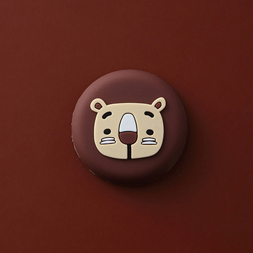 10pcs Cartoon Refrigerators Magnetic Sticker Fridge Magnets Home Decor Kitchen Decoration Accessories Brown bear