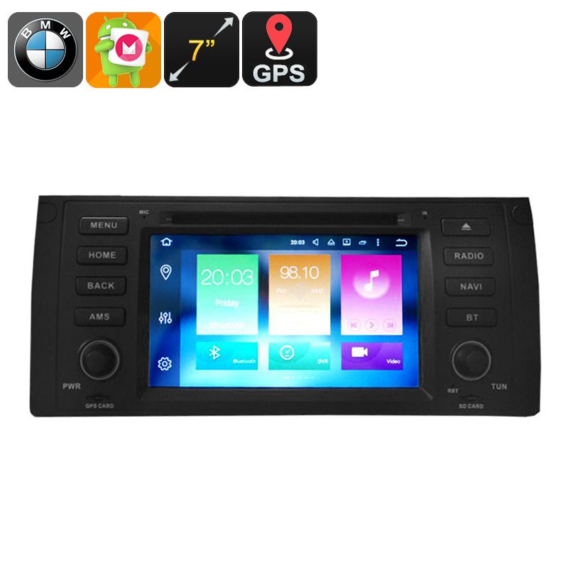 One DIN Car DVD Player BMW 5 Series