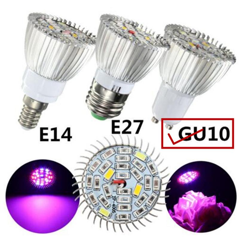 10W LED Full Spectrum Plant Grow Light Lamp for Indoor Garden Greenhouse Supplies GU10