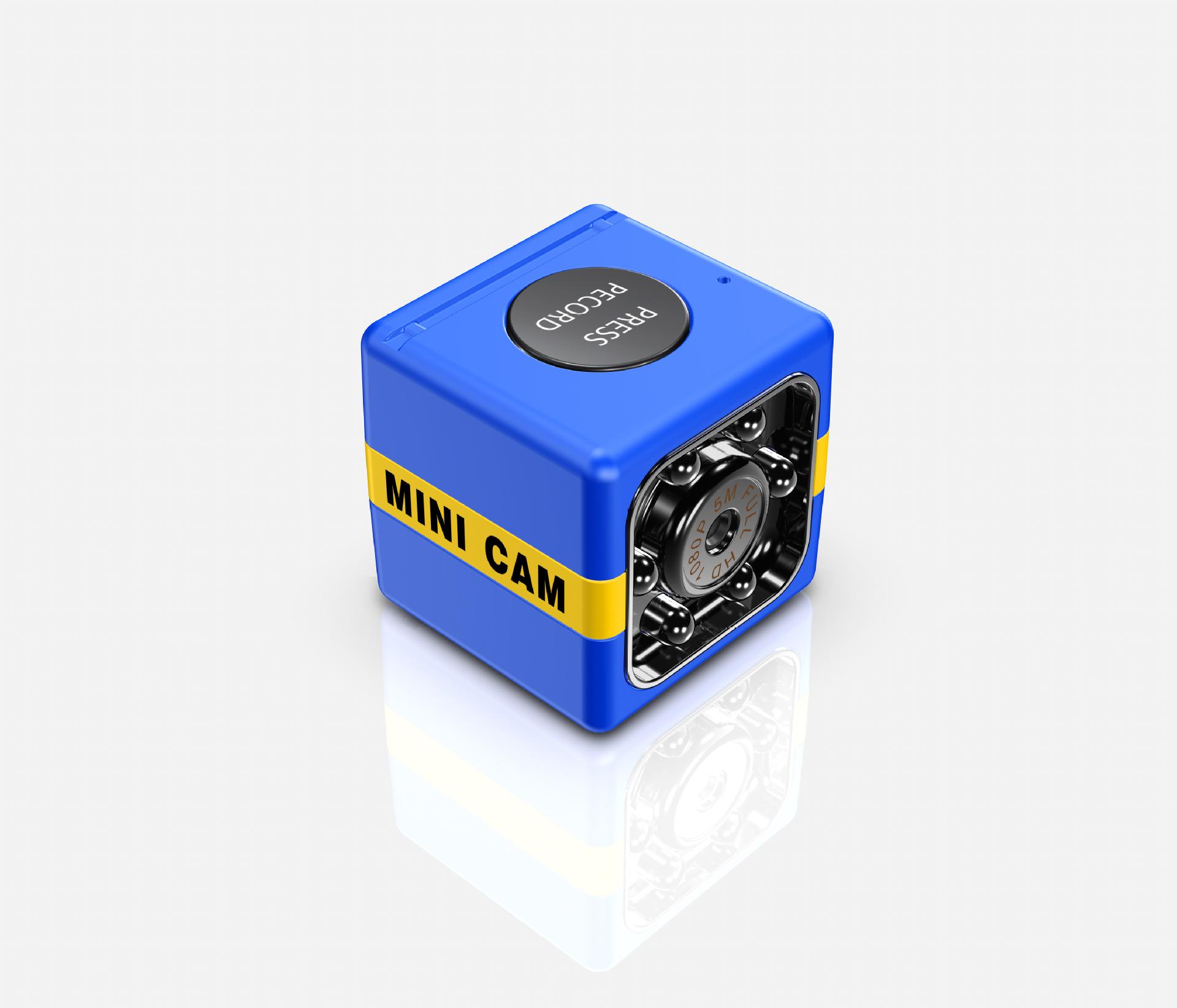 FX01 Mini IP Camera Wireless WiFi HD 1080P Hidden Home Security Night Vision Monitor blue