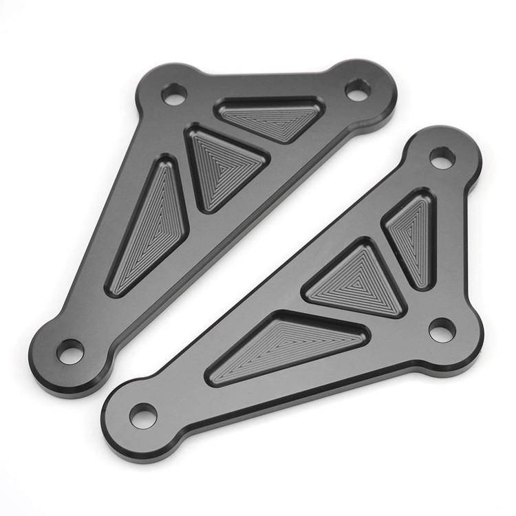 For Kawasaki Z1000 2014-2017 Motorcycle Accessories Adjustable Lowering Linkage Drop Link Kit gray
