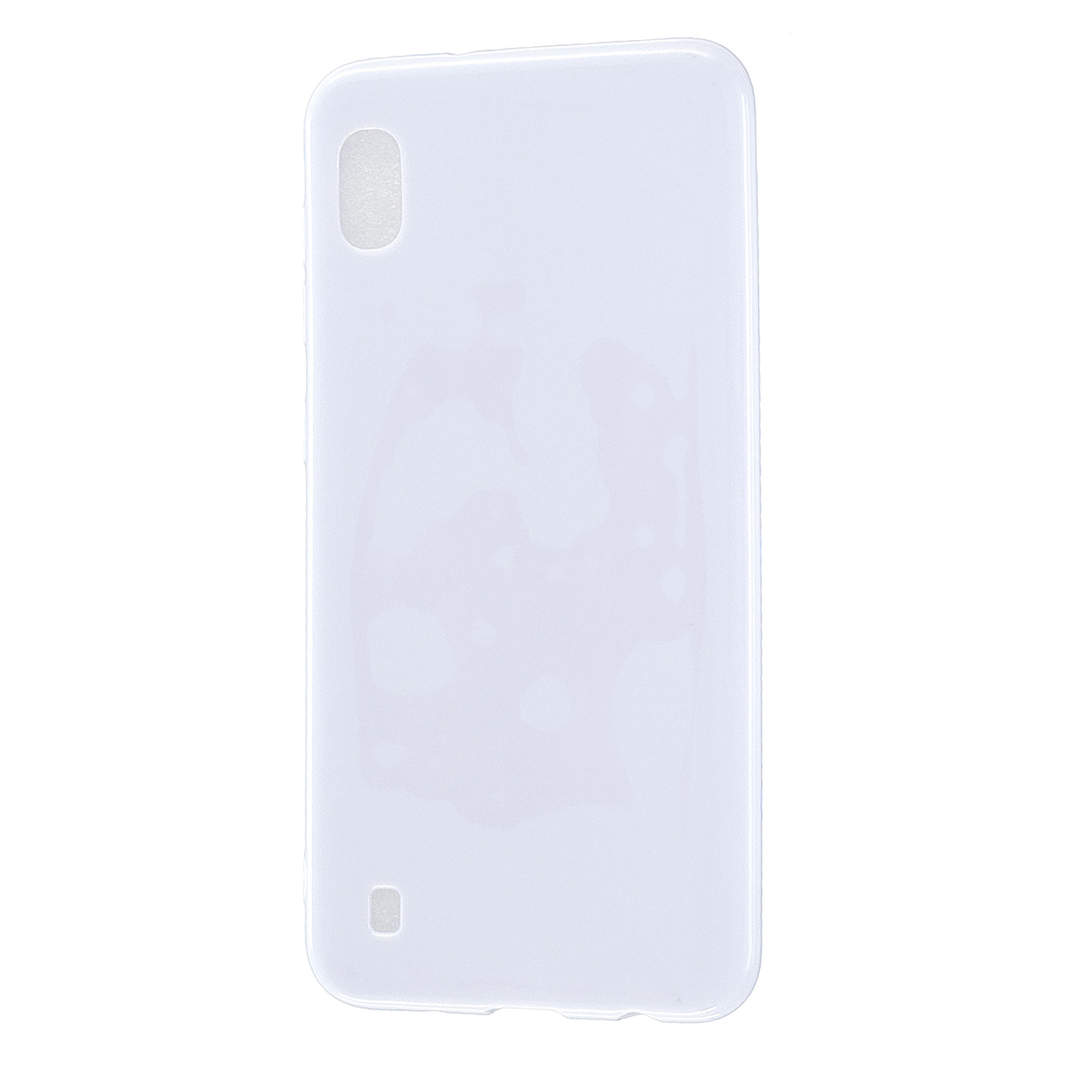 For Samsung A10/A20/A30/A50 Phone Case Soft TPU Overal Protection Precise Cutouts Easy to Install Cellphone Cover  Milk white