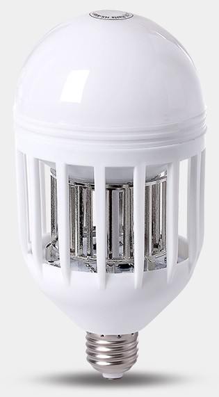 [EU Direct] 2 in 1 Bug Zapper LED Bulb, 110V E27 Mosquito Killer Light Bulbs, Indoor/Outdoor Lighting lamp for Flying Insects Wasp Moths Fly Killer