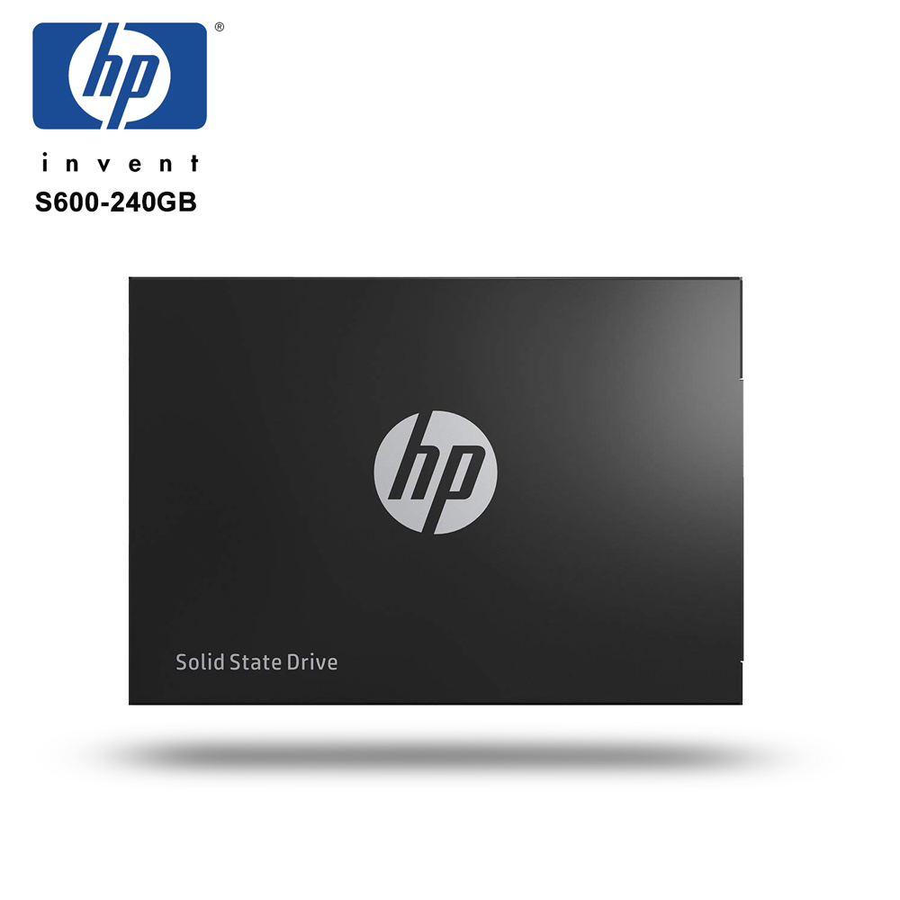 HP S600 Solid State Drive Black 240GB