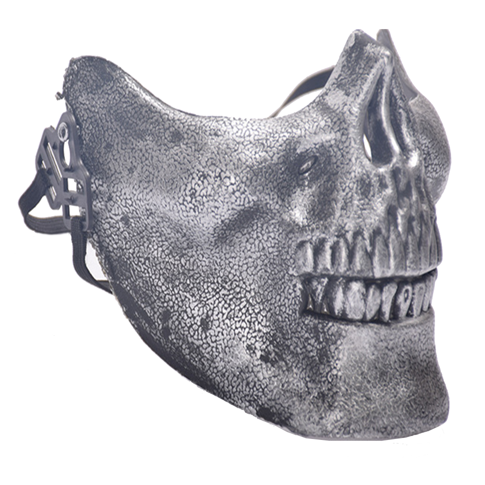 Chieftain Skull Half Face Mask
