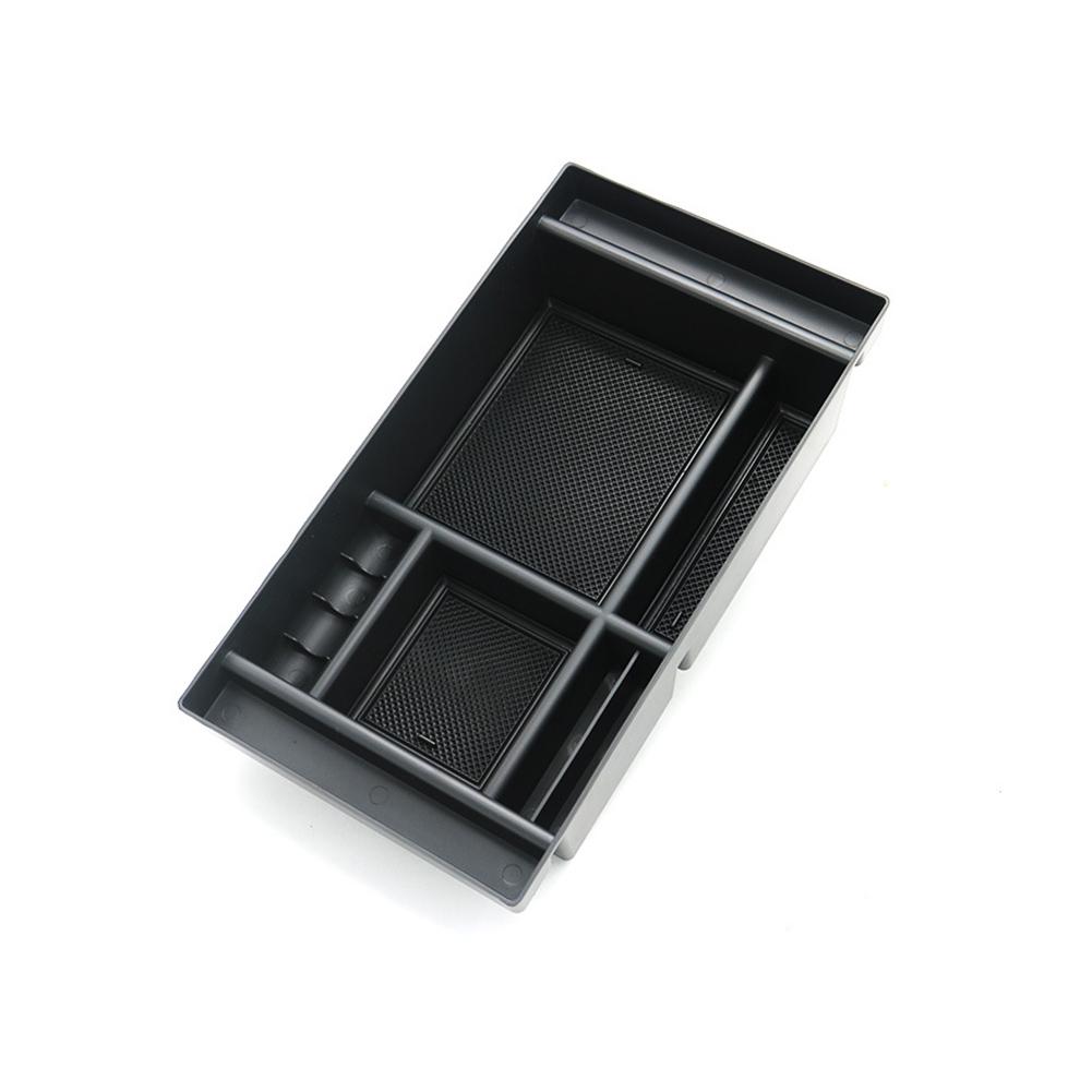 ABS Center Console Organizer Tray Armrest Storage Box for GMC Sierra 19-20 Silverado 19-20