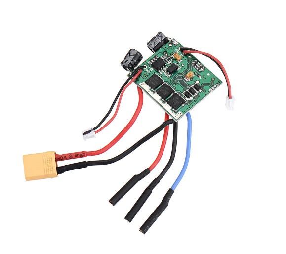 XK K130 RC Helicopter Parts 20A ESC with XT30 Plug 4.01.K130.0014.001 as shown