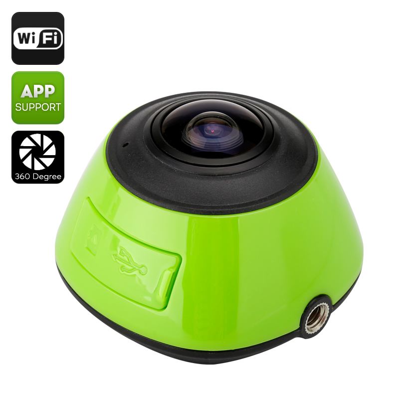 360 Degree Wi-Fi Action Camera