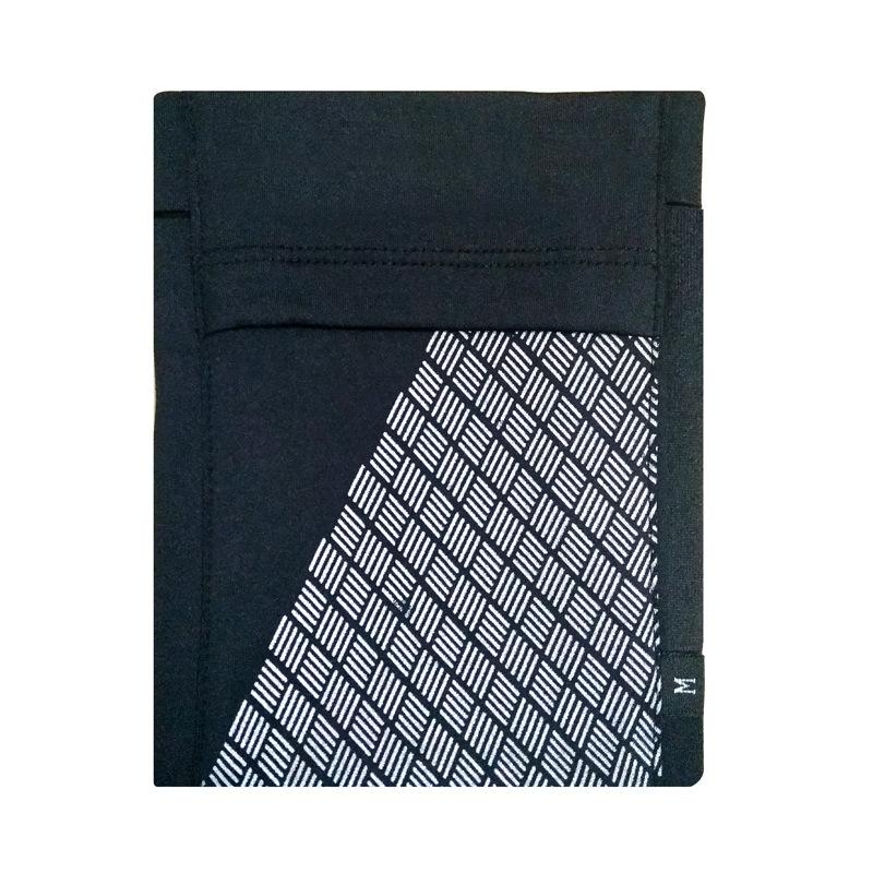 Running Mobile Phone Arm Bag Sports Arm Pocket Fitness Elastic Running Close-fitting Wrist Bag black