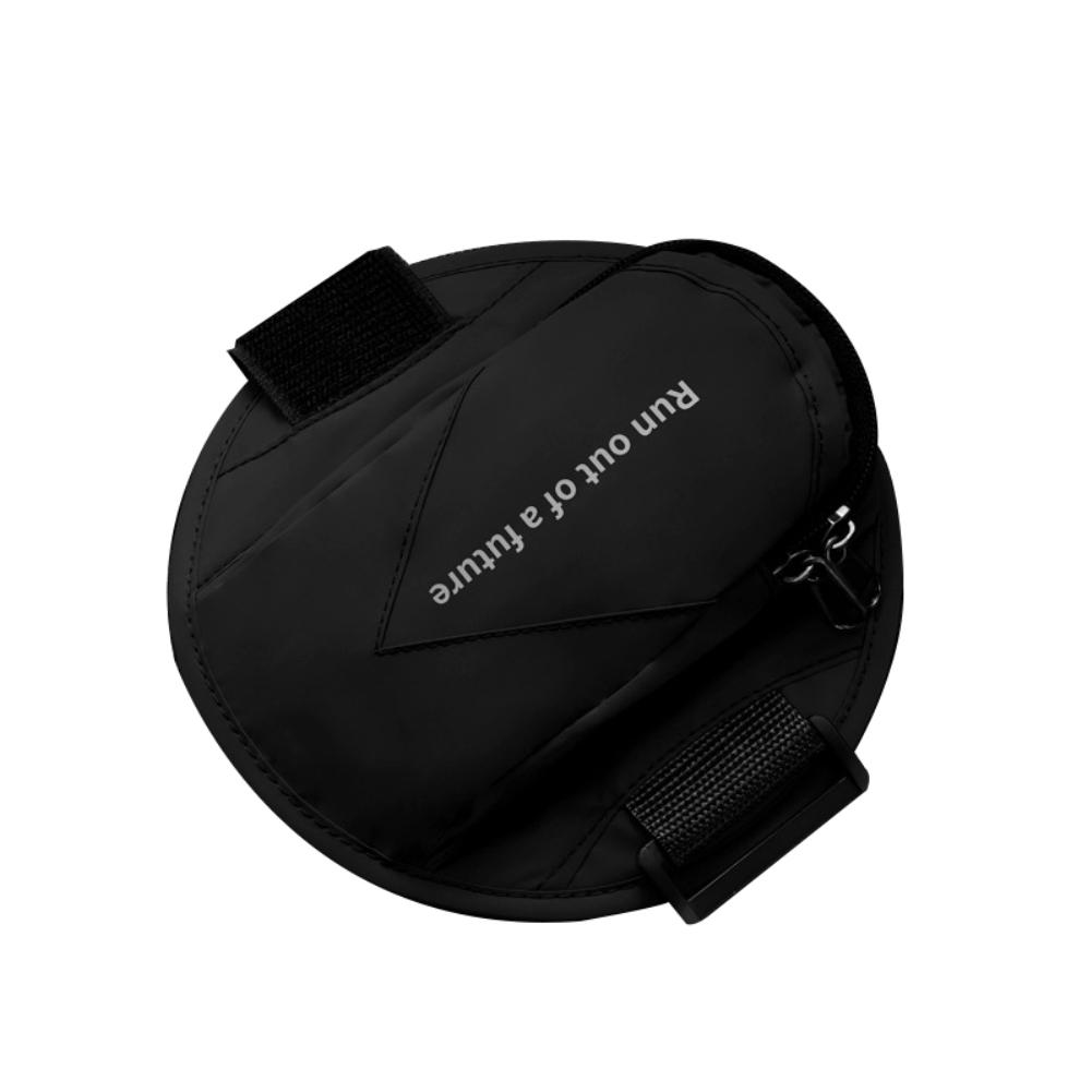 Running Armband Sports Phone Holder Workout Exercise Arm Bag Band black