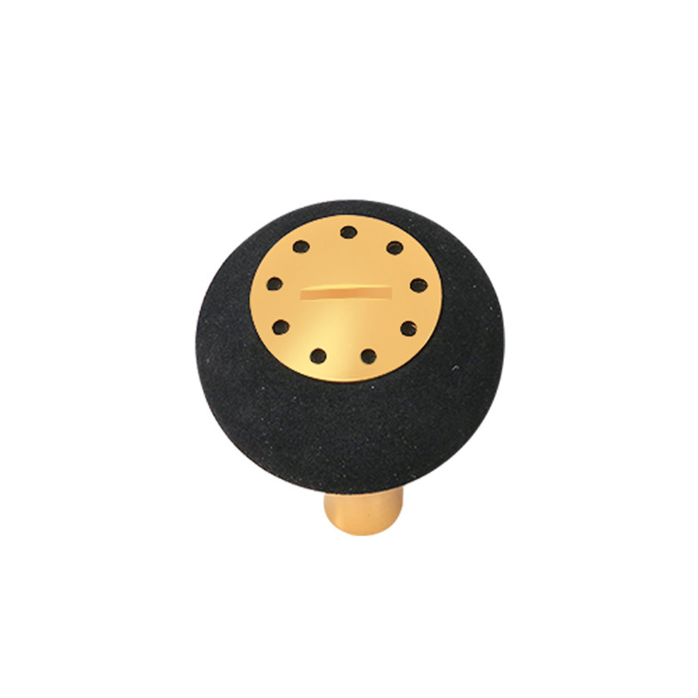 Fishing Reels Modified EVA Knob Spinning Reel Drum Reel Handle for S/D Accessories Gold