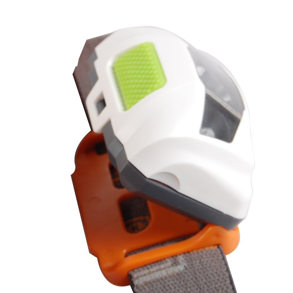 Urparcel 4 Modes LED 120 Lumens Head-Lamp Headlight with White Light, Ultra brightness for Camping, Hiking, Jogging, Biking, Fishing, Reading
