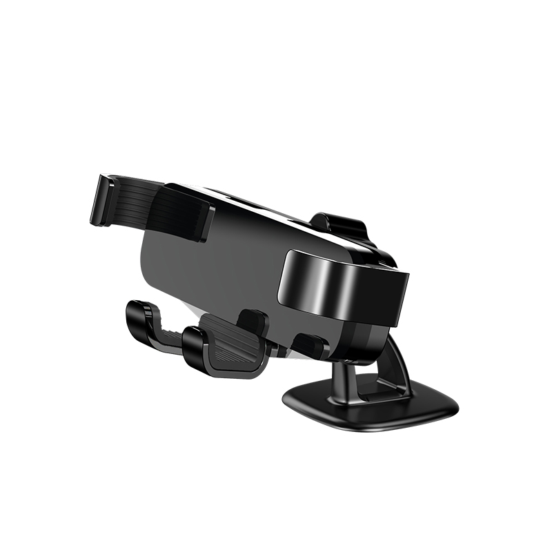 Adjustable Phone  Mounting  Suction  Cup  Holder Car Air Outlet Phone Navigation Suction Cup Bracket Paste style black