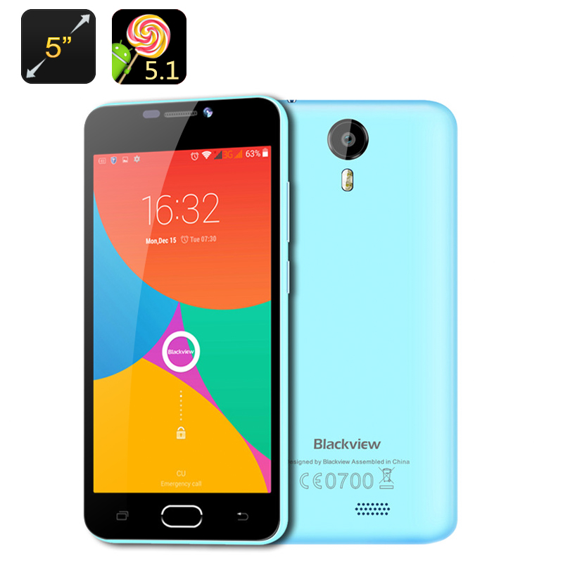 Blackview BV2000 4G Smartphone (Blue)