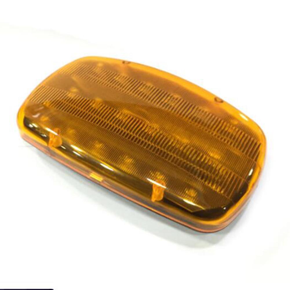 18 LED Car Magnetic Emergency Light  Traffic Safety Warning Flash Light yellow