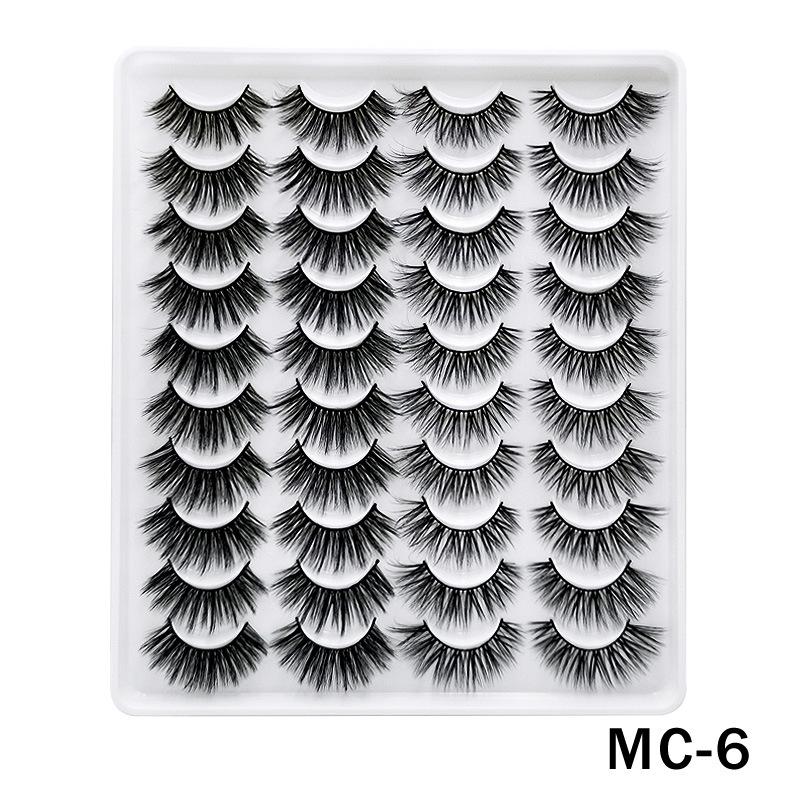 6D Mink False Eyelashes Handmade Extension Beauty Makeup False Eyelashes MC-6
