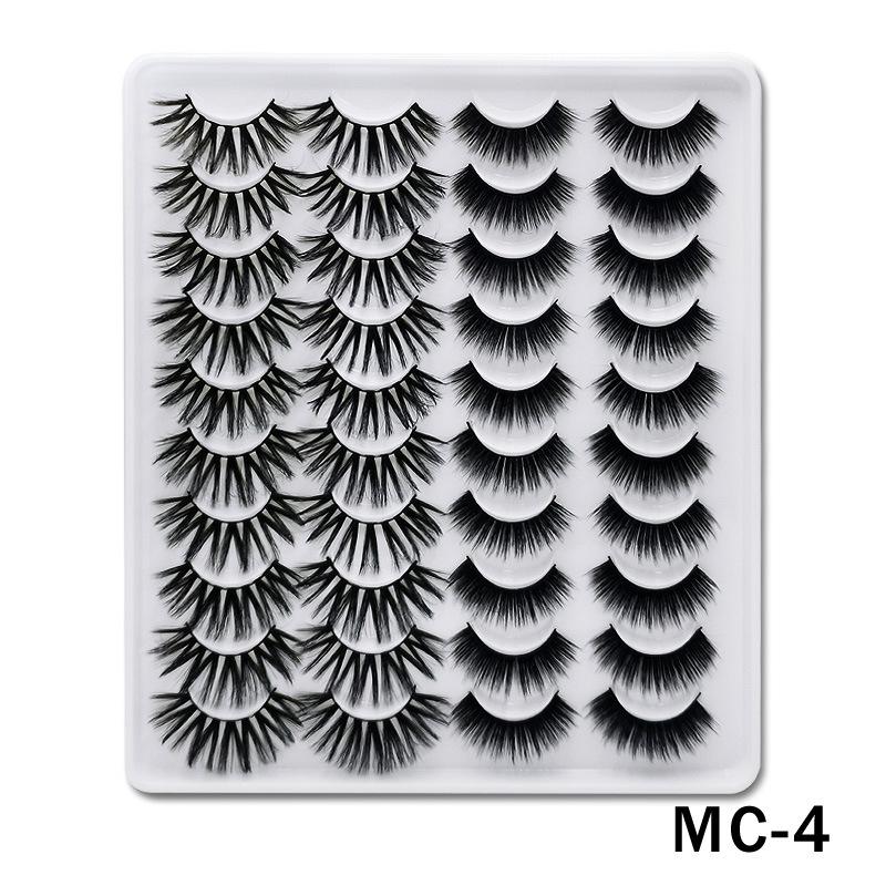 6D Mink False Eyelashes Handmade Extension Beauty Makeup False Eyelashes MC-4