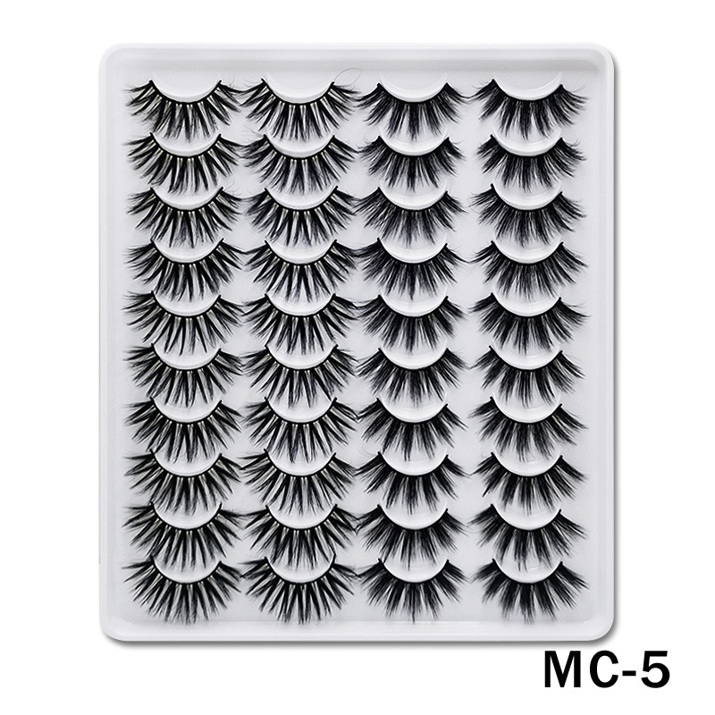 6D Mink False Eyelashes Handmade Extension Beauty Makeup False Eyelashes MC-5