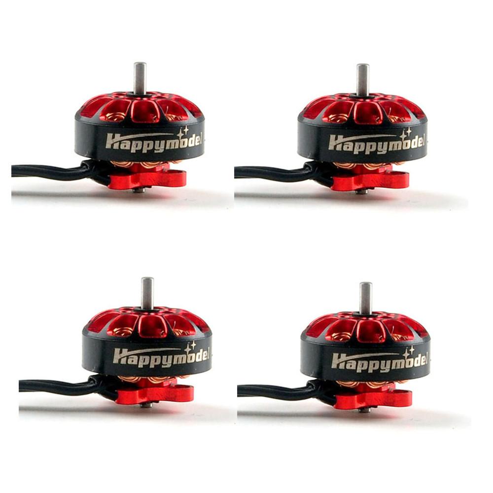 4Pcs Happymodel EX1203 5500KV 6200KV Brushless Drive Motor 1.5mm Shaft Mini Engine DIY Spare Parts for RC Racing FPV Drone