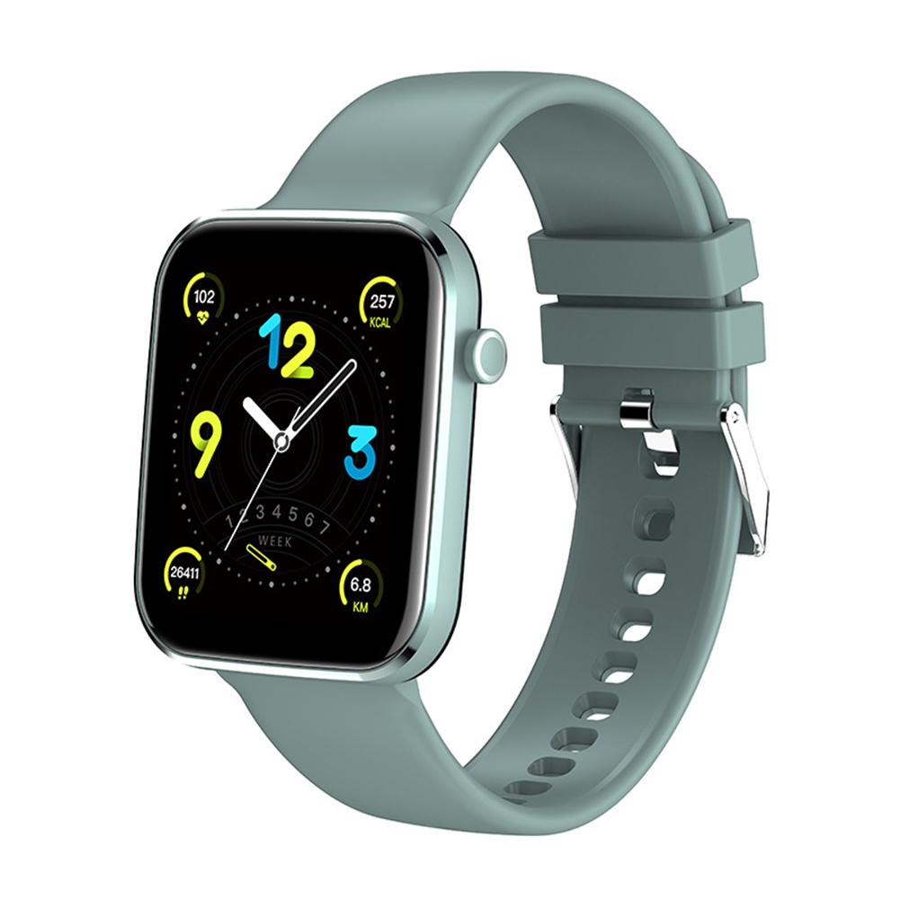 Z15 Smart Watch Bluetooth Call Smart Watch Men Women Ecg Heart Rate Monitor Sport Activity Tracker Light green