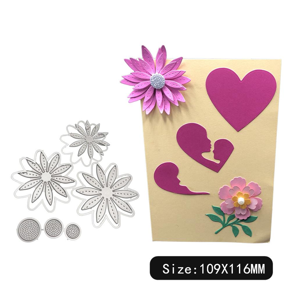 Carbon Steel Cutting Dies for DIY Scrapbooking Album Paper Cards Decorative Crafts Envelope Lace / Invitation Lace 1805579