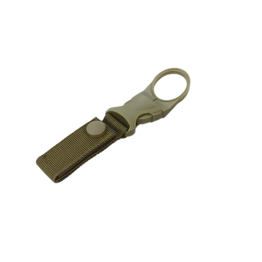 Nylon Ribbon Water Bottle Buckle - Army Green