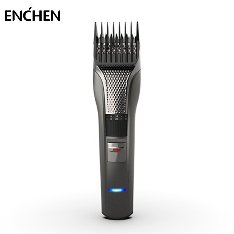 ENCHEN Sharp3 Electric Hair Clipper Professional Hair Trimmer USB Charging Cutter Low Noise for Men Adult Baby Kids black