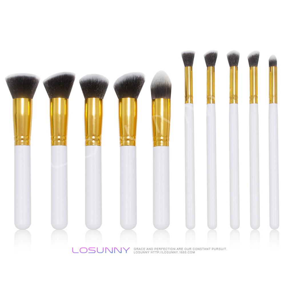 10 Pcs/set Makeup Brushes Set Face Cosmetic Eye Shadow Foundation Blush Brush