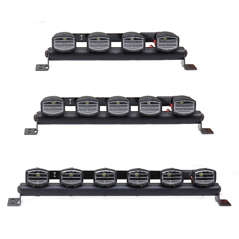 1/10 Simulation Climbing Car Headlight TRX4 90046 SCX10 Flat Running Rally Car General 5 lights