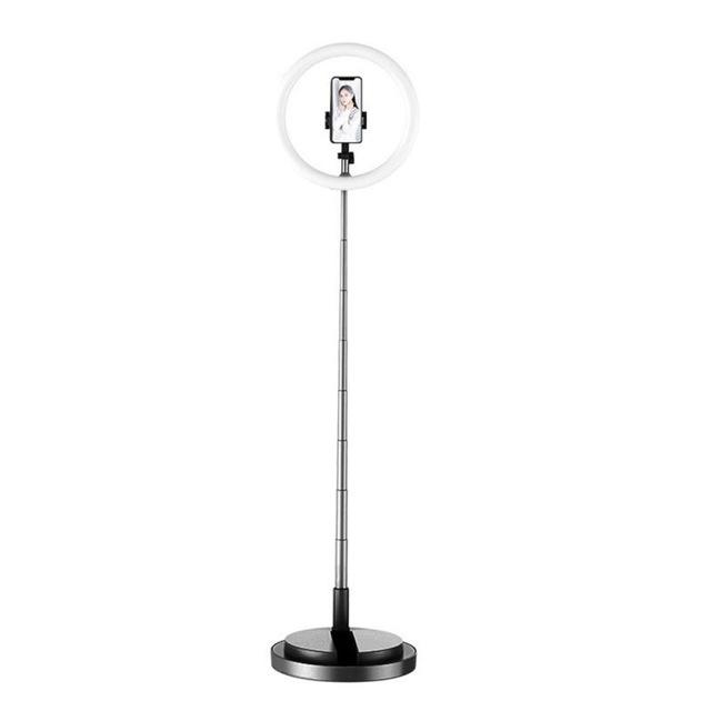 Y2 Selfie Fill Light Desktop LED Ring Light for Tripod Stand USB Plug for YouTube Tik Tok Live Photo Studio black