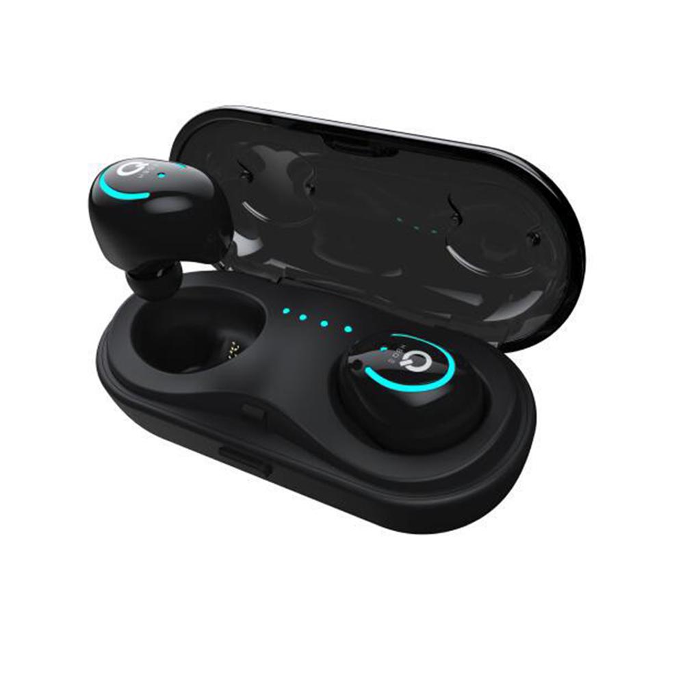 HBQ Q18 TWS Wireless Bluetootn 5.0 Long Standby Time Earphone Earbuds In Ear  black