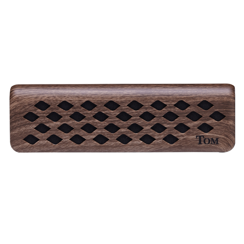 Mini  Speaker  Rechargeable  Musical  Instrument  Speaker  Connected  with  Bt Dark brown