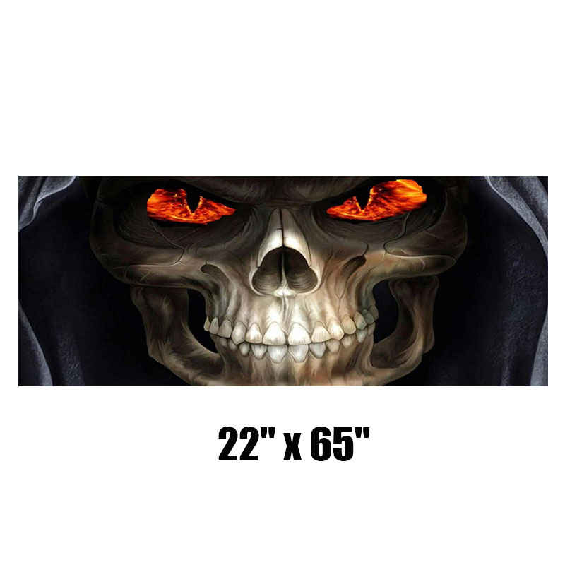 Grim Reaper Rear Window Tint Graphic Decal Wrap Back Pickup Graphics 165*56CM