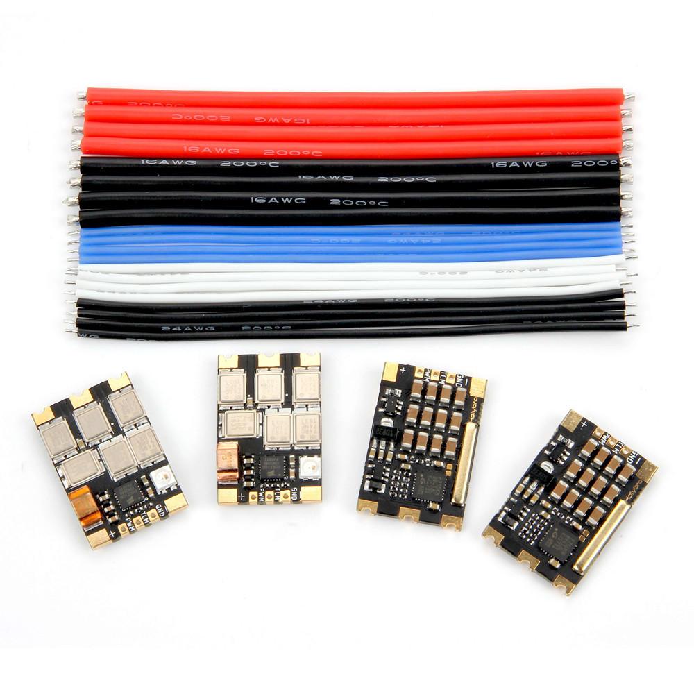 4 PCS Holybro Tekko32 F3 Metal ESC 65A BLheli_32 DShot1200 3-6S ESC w/ F3 MCU & LED for RC Drone KSX3224